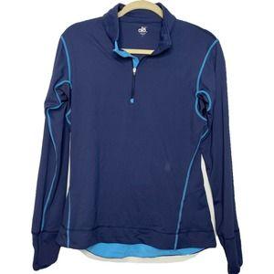 ALO Coolfit Women's Blue Yoga Fitness Jacket sz L